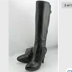 Nine West Jetto Tall Leather Heeled Boots